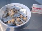 酔い止めにジンジャータブレット(無料)。医薬品も売ってます。