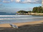 マンリーのビーチ
