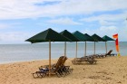 きれいな砂浜のビーチ