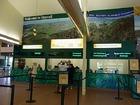 スカイレール駅。ここから出発