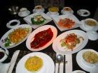 豪華な広東料理ディナー