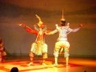 タイの民族舞踊ショー