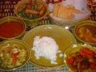 タイのセット料理です
