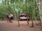 保存されている戦車