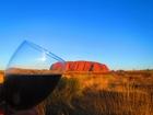 サンセットを見ながら飲むグラスワインは最高