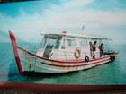 船の上から魚釣り体験