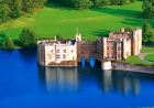 「貴婦人の城」と呼ばれるリーズ城
