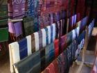 サンハイ村の織物