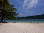 白砂の美しいビーチ