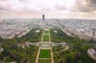 エッフェル塔からの景色