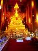 黄金に輝く仏像