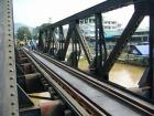 クウェー川鉄橋を歩いてみる