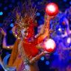 幻想的な光と音楽によるショー