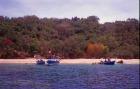 ムンジャガン島のビーチ