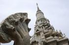 新しい仏塔