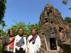 バラモンと仏教の混合寺院「ワットタプローム寺院」