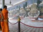 シルバー・パゴダ内「ラーマーヤナ」の壁画