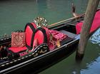 手漕ぎボートのゴンドラ