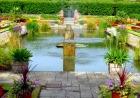 宮殿内の庭園