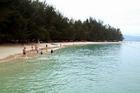 きれいな海でのんびり♪