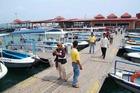 トゥンク・アブドゥル・ラーマン海洋公園内桟橋