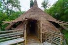 部族によって異なる住宅様式が見れます