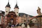 アルトシュタット(旧市街)への入口のひとつ、アルテ・ブリュッケの門塔