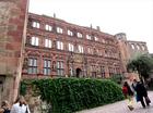 ハイデルベルク城内、16世紀に造られたオットハインリヒ館