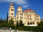 エギナ島 聖ネクタリオス教会(ギリシャ正教会)