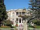 ドルマバフチェ宮殿の庭の噴水