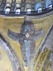 天井に描かれたモザイク画