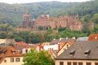 緑の高台にハイデルベルク城