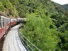 高原鉄道でキュランダへ