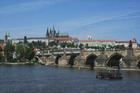 ヴルタヴァ川に架かる「カレル橋」