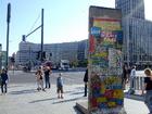 ポツダム広場の壁