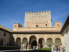 アルハンブラ宮殿の中庭