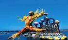 シルクドソレイユの水上妙技