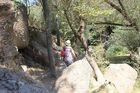 ウフララ渓谷をウォーキング