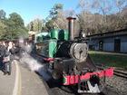 いよいよ蒸気機関車とご対面!