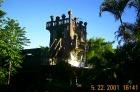天空の城のモデル