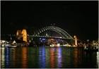 大都会シドニーのネオン