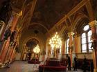 フレスコ画が描かれた天井(国会議事堂)