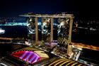 マリーナベイ・サンズ・スカイパーク(写真提供:シンガポール政府観光局)