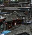 煙袋斜街の昔ながらの屋根瓦