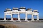 清東陵の牌楼