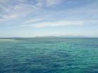 青い海が広がります