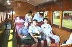 クランダ列車に乗車