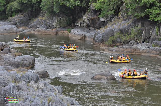 緩やかなバロン川