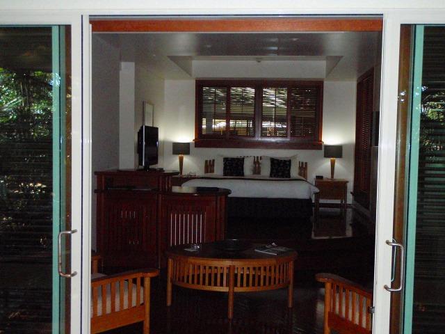 静かな客室