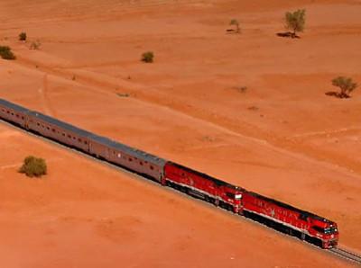 砂漠の中を駆け抜ける